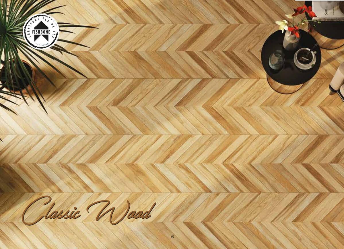 Pločice | Classic Wood Mix Motif - Seramiksan - 40x60 - 1.12