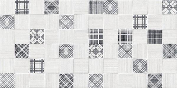 Pločice | Decore Tessile Cubik Gris - Keros - 25x50