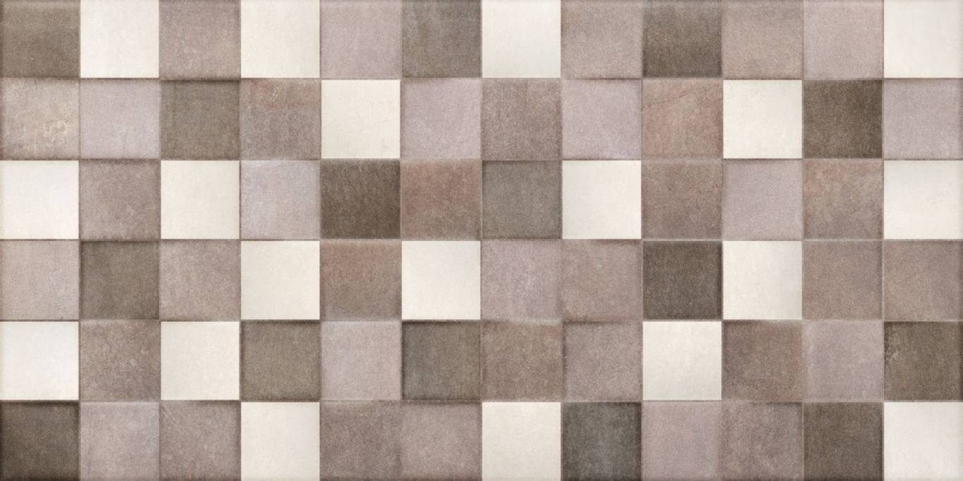 Pločice | Harlem Beige Cubic - Keros - 25x50