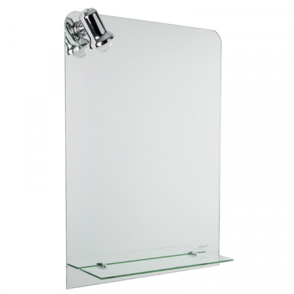 Ogledalo sa lampom i etažerom 50x70 J1508(LT)