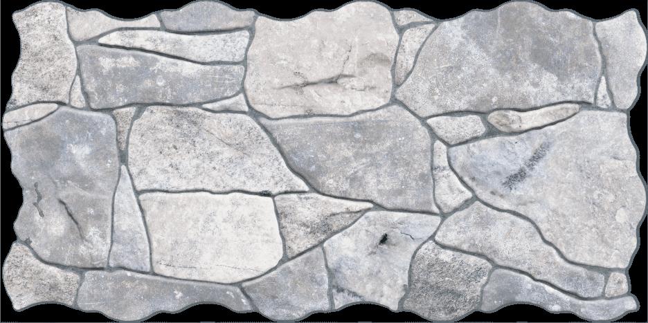 PIEDRA GRIS 23X46